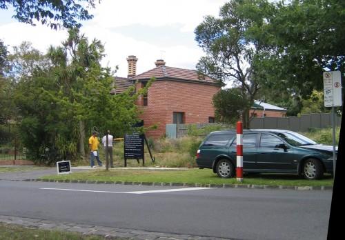 Empty block 'open for inspection' in Surrey Hills