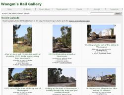 Wongm's Rail Gallery