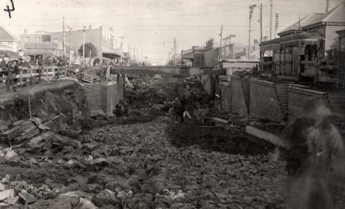 Victoria Street underpass, 1927