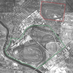 Ascot and Flemington Racecourses, Melbourne