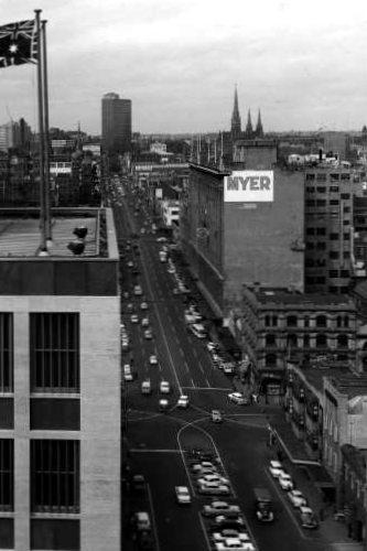 Lonsdale Street 1959 (SLV reference pi001315)