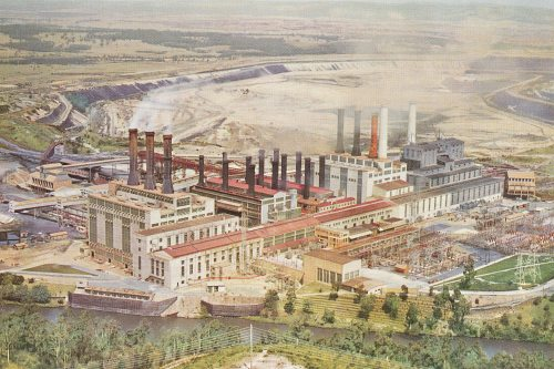 Yallourn Power Station, 1969