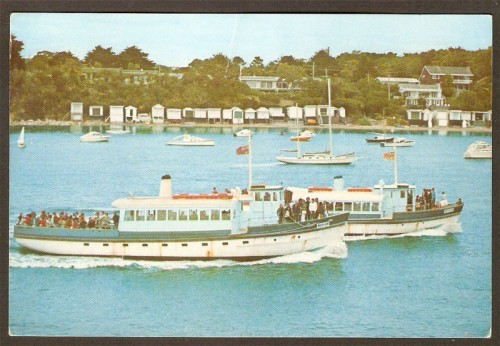 "Postcard featuring ferries ""Nepean' and 'Hygeia'"