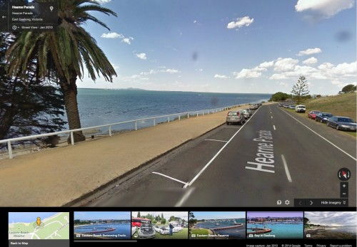 Hearne Parade, Geelong, Victoria - via Google Streetview