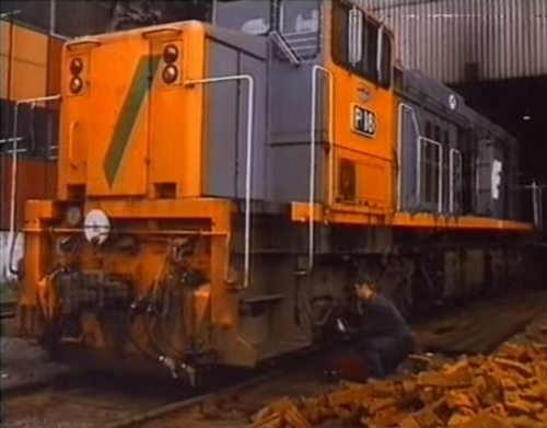 1988 Victoria Bitter television commercial featuring diesel locomotive P18