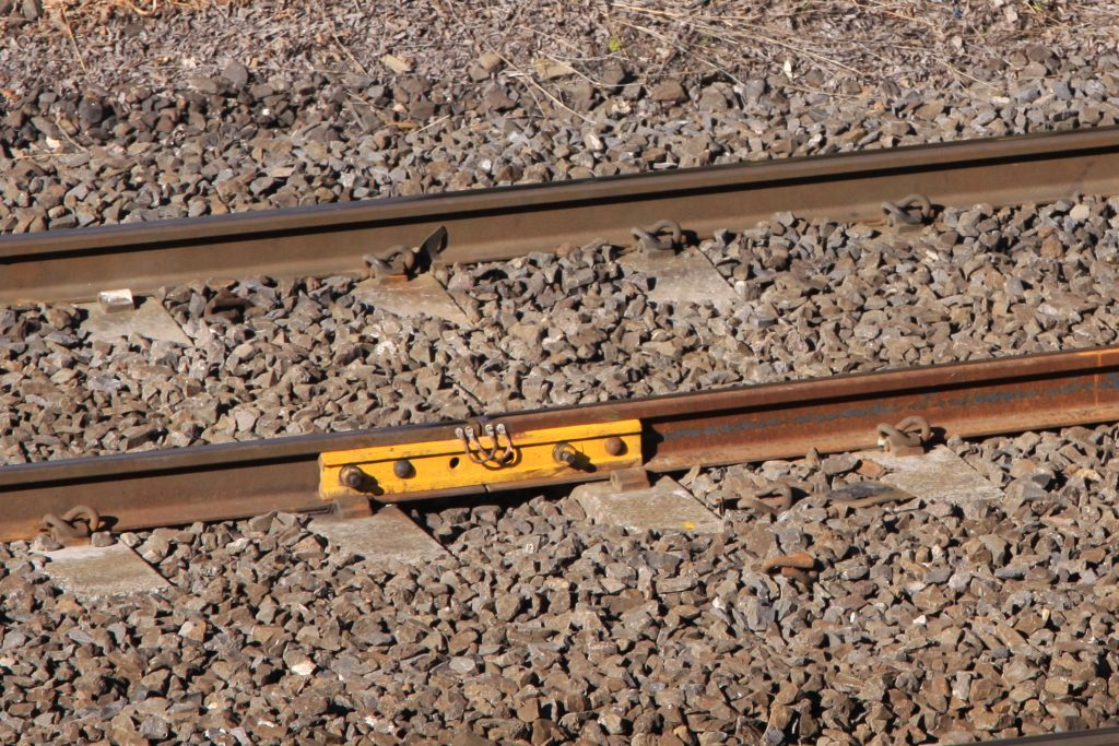 Cracked rails across melbourne 39 s railway tracks waking for Fish plates near me