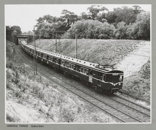 SLV image H31188 - Harris suburban train