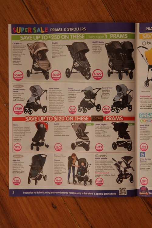 Baby strollers and pram catalog