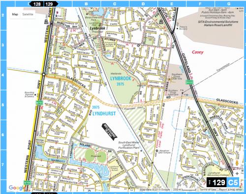 Cranbourne line level crossings - Lynbrook area