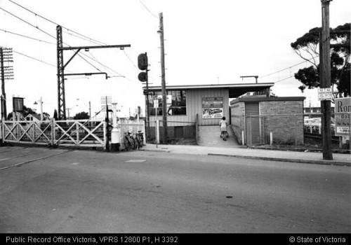 St Albans station, May 1969 (VPRS 12800/P1, item H 3392)