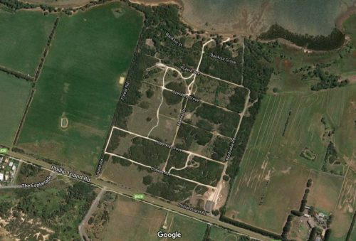 Abandoned subdivision - Scenic Estate, Phillip Island