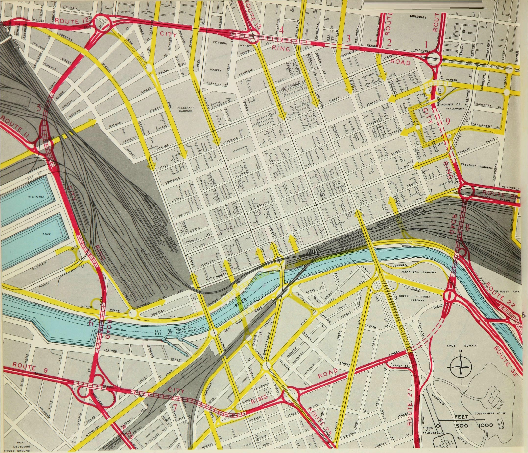 The City Ring Road that Melbourne never built - Waking up in